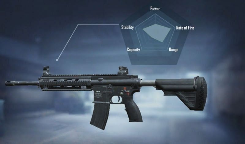 M416 has a good firing rate and bullet speed
