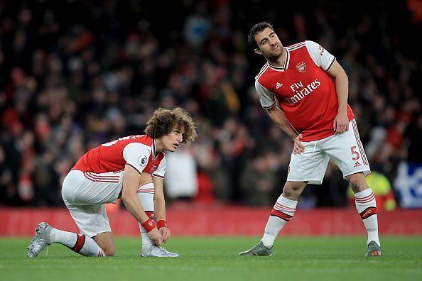 David Luiz and Sokratis