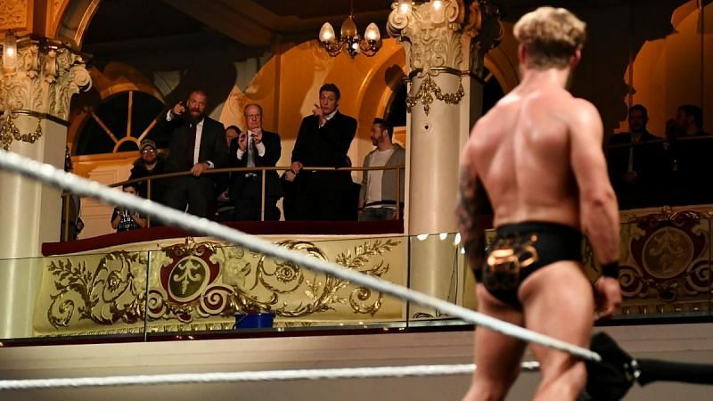 WWE legends pay their respects after an incredible performance from Tyler Bate