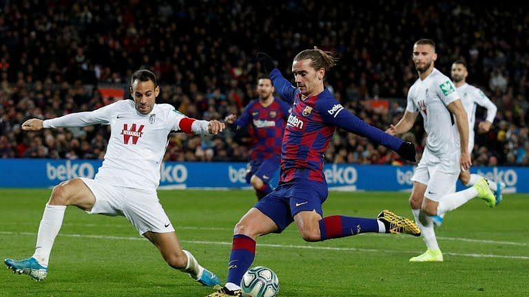 Barcelona registered a hard-fought 2-1 victory over UD Ibiza