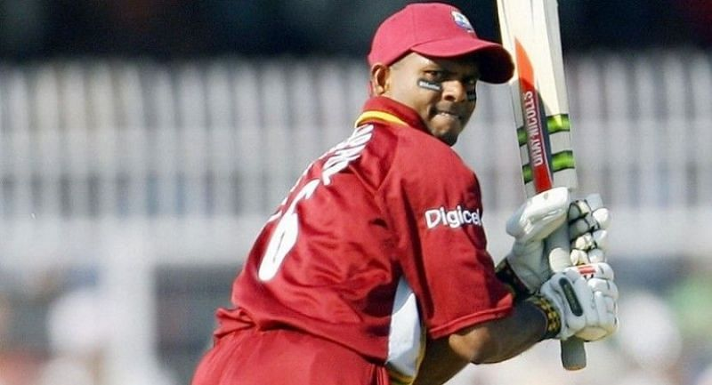 Shivnarine Chanderpaul scored a century while chasing 200