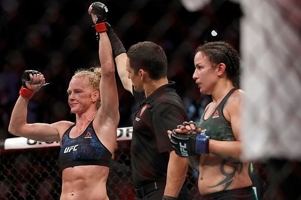Holly Holm v Raquel Pennington