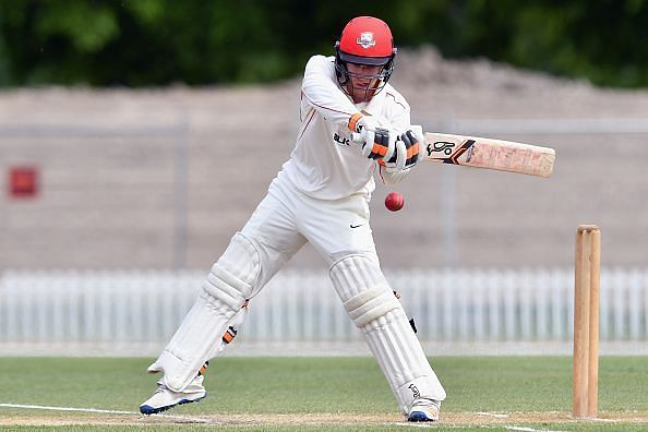 Leo Carter plays for Canterbury in the domestic circuit