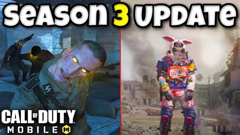 Call Of Duty Mobile Season 3 Battle Pass Reward Leaks And Next Major Update Release Date