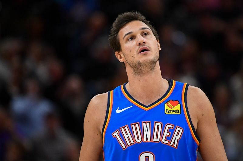 Danilo Gallinari was traded to the Thunder from the Clippers last summer