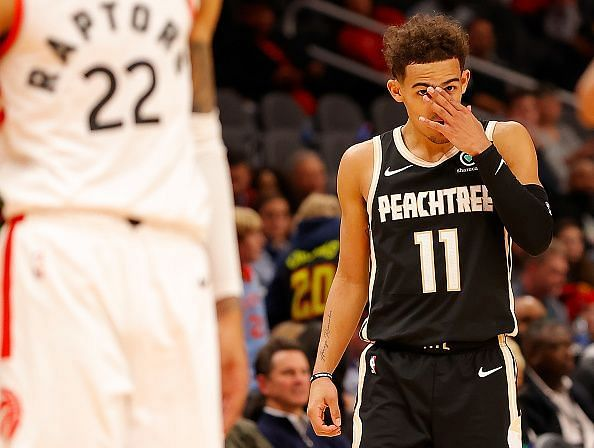 Trae Young received his first NBA All-Star selection earlier today