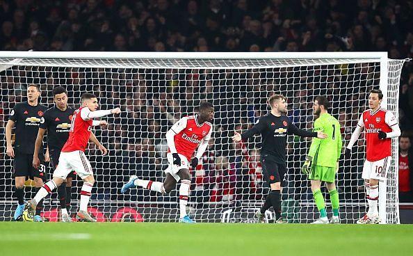Pepe scores Arsenal