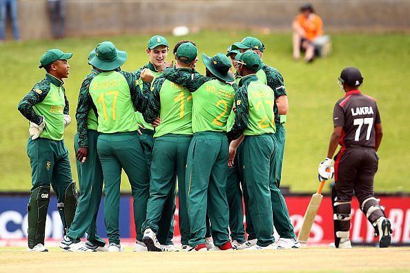 दक्षिण अफ्रीका की टीम