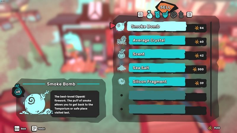 Items are costly in Temtem