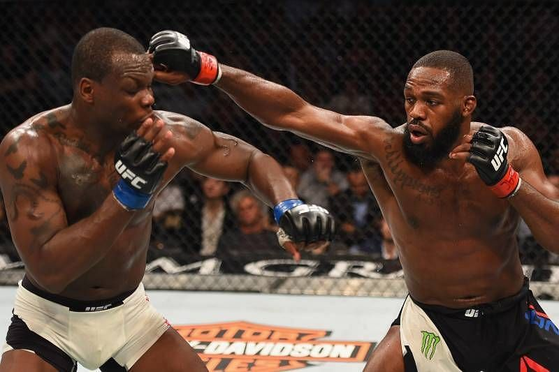 Jon Jones & Ovince Saint Preux clashed in the UFC 197 headliner