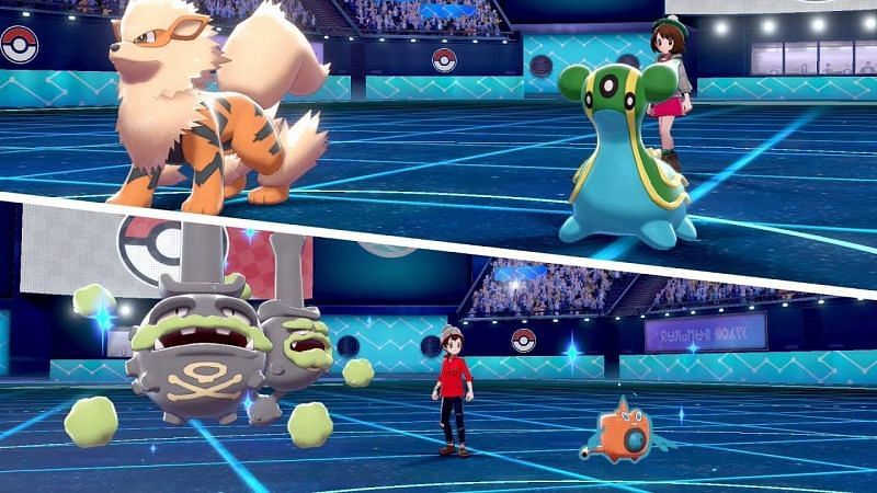 Image result for pokemon sword and shield ranked battle