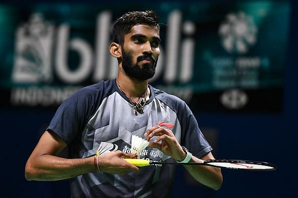 Kidambi Srikanth has a tough first-round contest against Chou Tien Chen