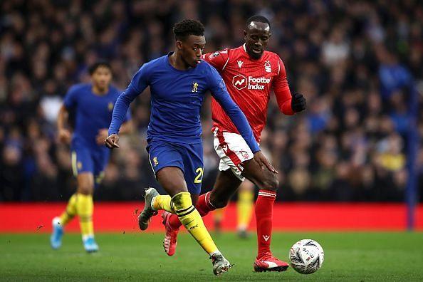 Callum Hudson-Odoi scored Chelsea