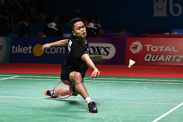 Anthony Sinisuka Ginting seems like the only player capable of challenging Momota