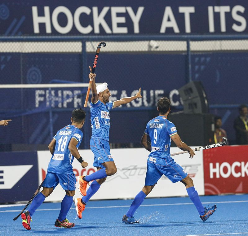 Indian forward line was in great form throughout the match