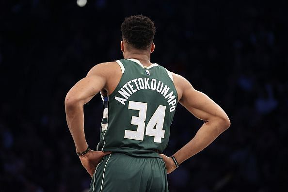 Giannis and the Bucks are 21-2 at home this season