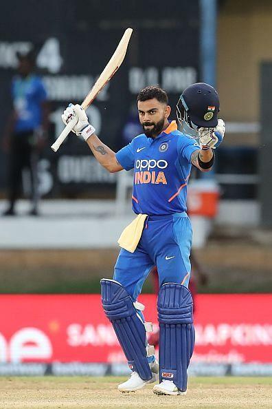 Virat Kohli: The mainstay of the Indian batting line-up