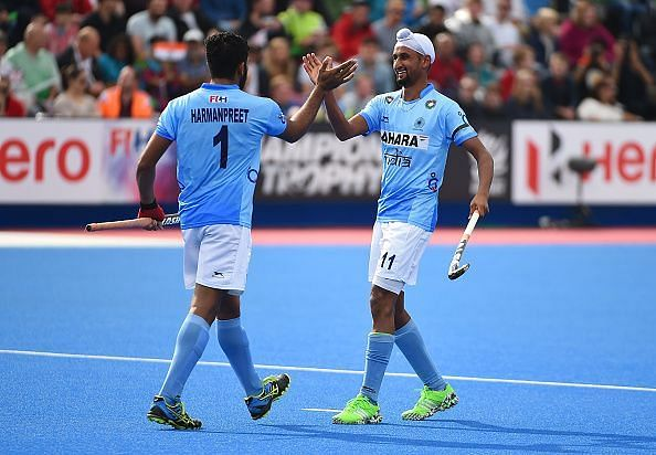 Mandeep Singh will represent India in the FIH Pro League