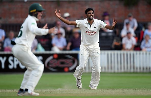 Ashwin will feature for Yorkshire in the 2020 County Championship Season in eight games