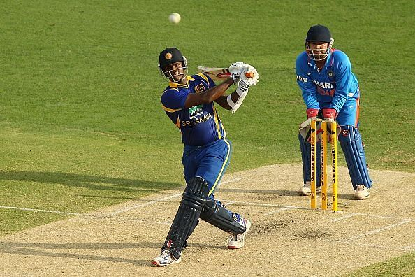 Angelo Mathews has been very consistent against India