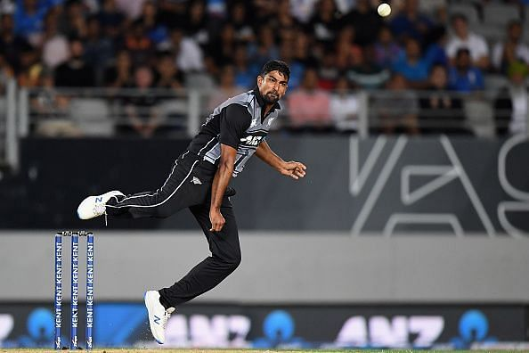Sodhi was the pick of the New Zealand bowlers in the 1st T20I