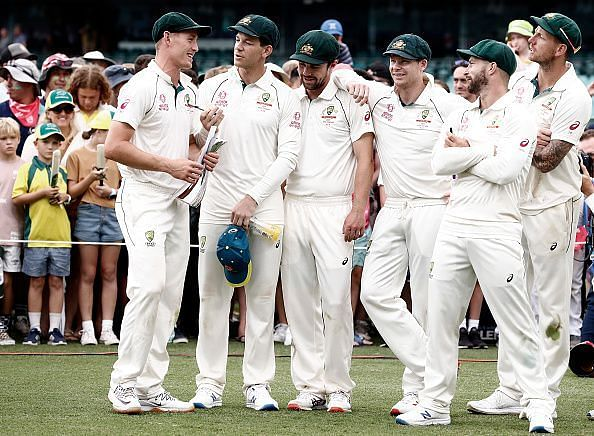 Australia completed a clean sweep against New Zealand