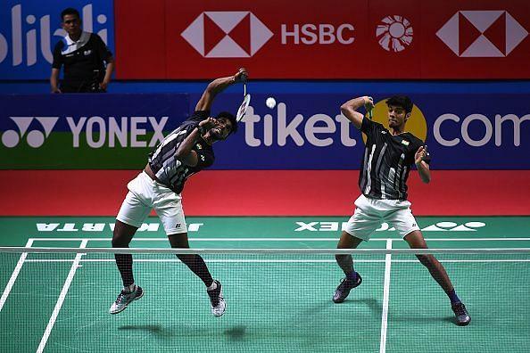 Satwiksairaj Rankireddy and Chirag Shetty