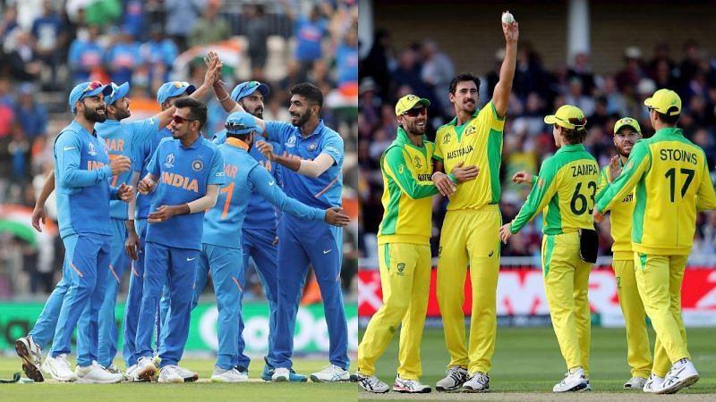 भारतीय क्रिकेट टीम और ऑस्ट्रेलिया क्रिकेट टीम