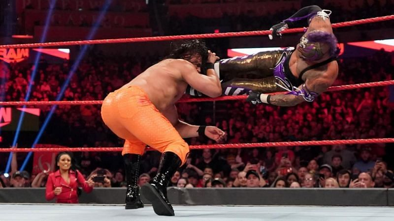 Mysterio almost picked up the win
