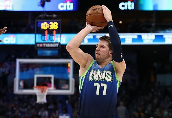 Luka Doncic has been tearing it up for the Dallas Mavericks