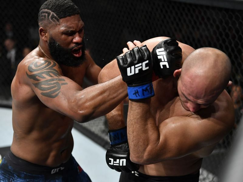 After his win over Junior Dos Santos, who should Curtis Blaydes face next?