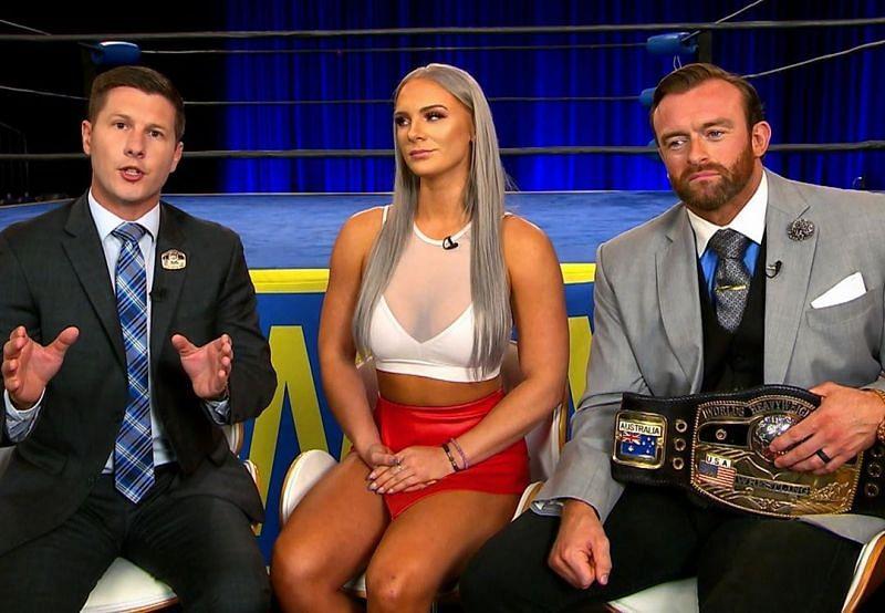 Studio wrestling is back!