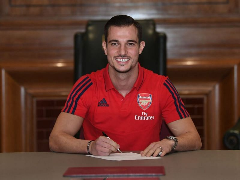 Cedric Soares joined Arsenal from Southampton