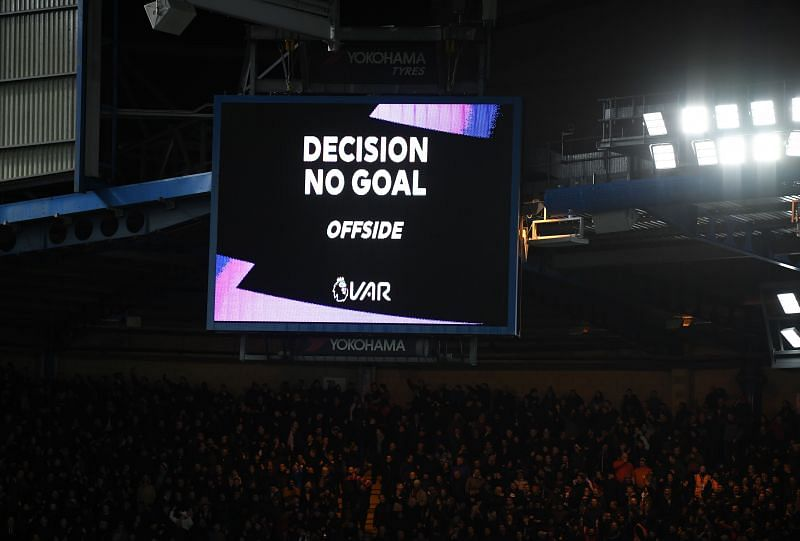 Two Chelsea goals were ruled out by VAR