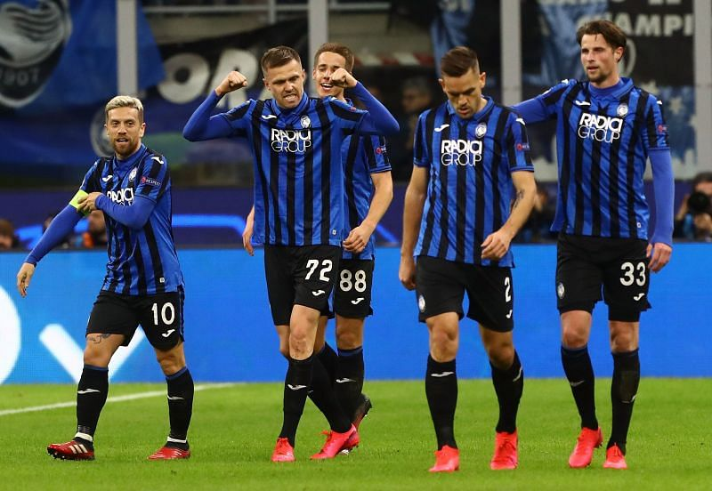 Atalanta were the big winners in the Round of 16 first leg