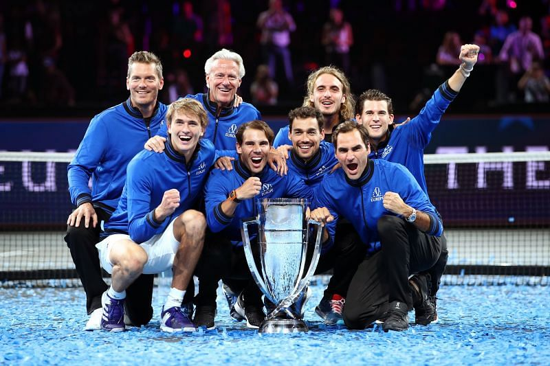 Federer won the Laver Cup with Team Europe in 2019