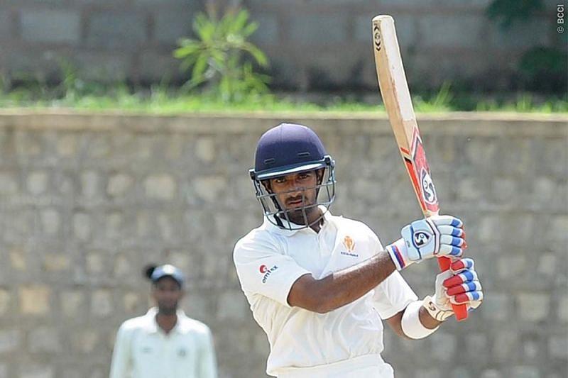 R Samarth (Representative image/Image courtesy: BCCI)