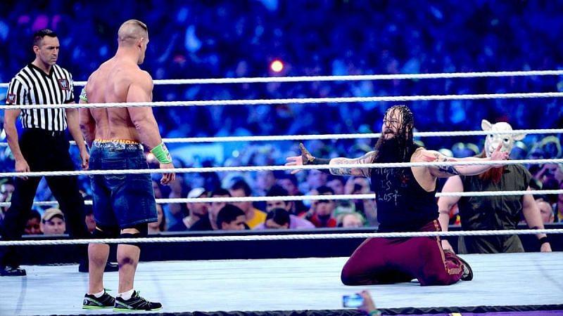 John Cena and Bray Wyatt