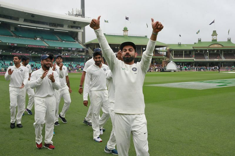 India will be looking for another overseas Test series win