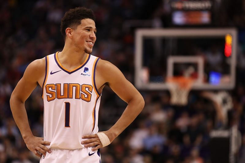 Devin Booker will replace Damian Lillard in the All-Star game.