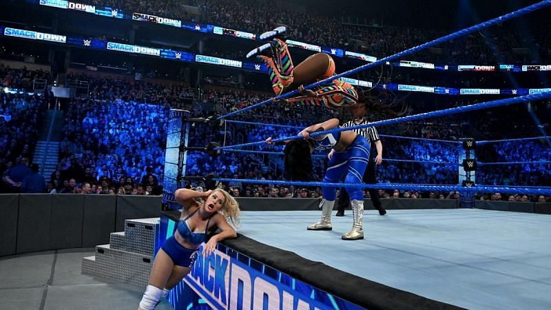 Naomi pulled off a great finisher