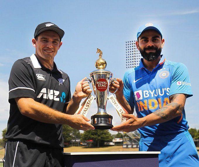 भारत-न्यूजीलैंड वनडे सीरीज
