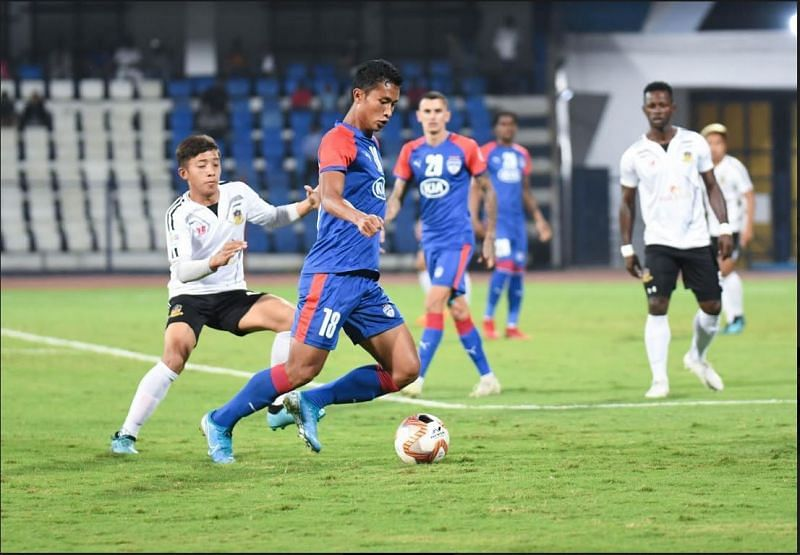 Semboi Haokip is likely to start this game in the Bengaluru FC front-line