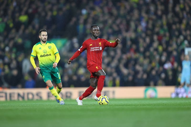 Naby Keita acted as a fulcrum to regular Liverpool attacks