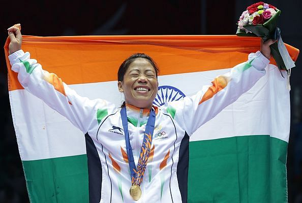 Mary Kom is among the Indian boxers training in Italy