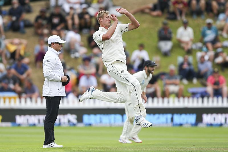 Kyle Jamieson picked three wickets for New Zealand