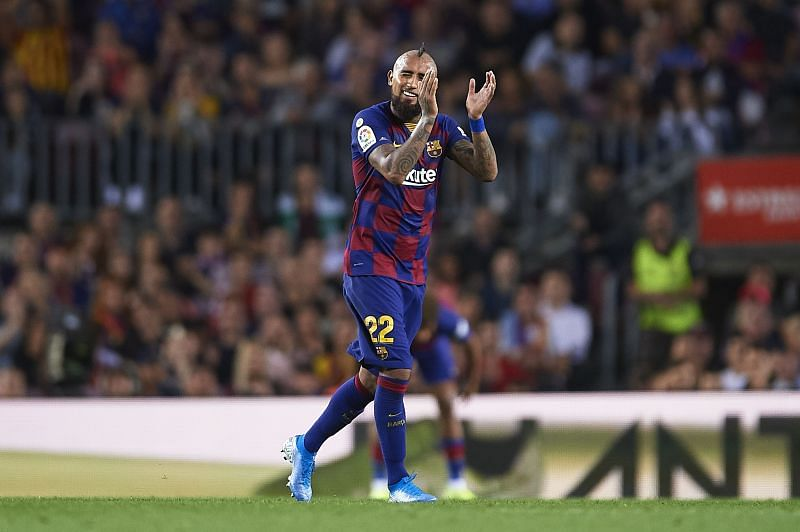 Vidal impressed for Barcelona