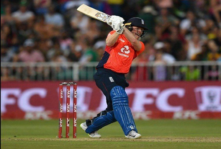 Eoin Morgan stole the show with the bat in the 3rd T20I.