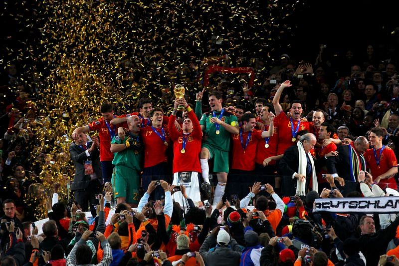 Ramos lifted the World Cup with Spain in 2010