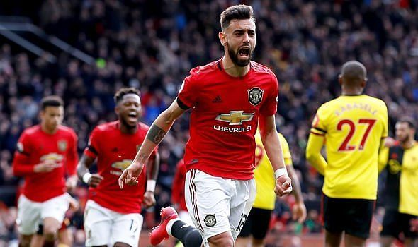 Manchester United established a 3-0 win over Watford on Sunday